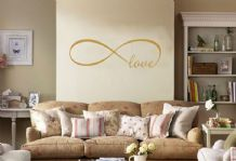 Infinity Circle Wall Art Sticker Transfer - Vinyl Wall Sticker, Decal, Transfer